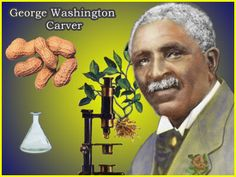 Inventor of peanut butter and a well know agricultural scientist