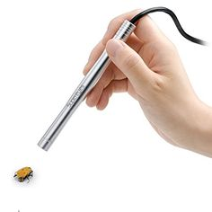 Supereyes B005 1 ~ 200X Handheld USB Digital Microscope Endoscope Loupe Otoscope Magnifier with 11mm Tube Diameter Tripod LED  Powered by 2.0 USB. 0.3M pixel CMOS sensor, interpolated to 2MP definition. Adjustable LED light.Auto white balance and auto brightness balance function. Magnification: 1 ~ 200 times (combined optical and digital zoom), continuos zoom capability. Focal distance from 3 mm to infinity. The magnification factor increase as the focal distance decrease, and vice v..