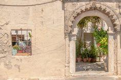 Portal / greek house by ChristianThür Photography on Creative Market Greek House, Photo Craft, Portal, Creative, Photography, Instagram, Crafts, Rhodes, Fotografie