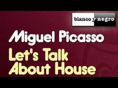 Miguel Picasso - Like Frankie Knuckles Let Them Talk, Let It Be, Frankie Knuckles, Picasso, Play, Black And White, Musica