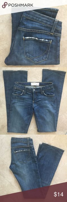 PAPERDENIM&CLOTH JEANS SIZE 24 Size 24 see pic for measurement. Paper Denim & Cloth Jeans Boot Cut