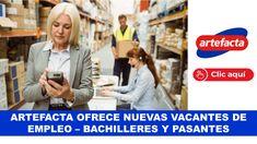ARTEFACTA OFRECE NUEVAS VACANTES DE EMPLEO Ecuador, Baseball Cards, Sports, College Students, Activities, Sport