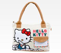 Hello Kitty Messenger Bag: Airmail $70.00