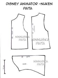 Ninnuska: Animator doll clothes / formulas