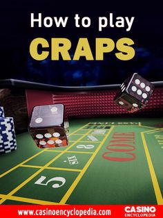 Be a winner of your game by learning how to play Craps, Rules of craps, how to place bets and the best Craps Bets, Craps Payouts and more. #CrapsGuide #CasinoCraps #Crapsgame Casino Promotion, Casino Bonus, Online Casino, Poker Table, Good Things, Play, Games, Learning, Dice