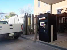 Utility Payment Kiosk - City of Nacogdoches  City of Nacogdoches Justified Automated Payment-Collection Kiosks will be made available to the public for payments on a 24/7 basis and will accept cash, credit card & check payments and give customers a printed receipt of their payment.