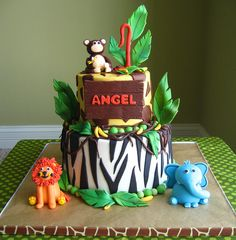 Jungle Birthday Party by Ode to Inspiration, via Flickr