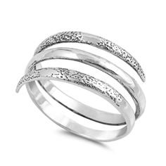 Open Spiral Thumb Unique Ring ( Sizes 5 6 7 8 9 10 ) New Sterling Silver Band Rings by Sac Silver (Size Sterling Silver Thumb Rings, Halo Diamond Engagement Ring, Unique Rings, Band Rings, Toe Rings, Silver Jewelry, Diamond Jewelry, Glass Jewelry, Jewellery