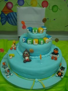 Birthday Cake Baby Looney Tunes