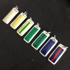 Solid silver charms with belt detail. For hanging on Large TaeKwon-Do Charm Tree. £15 each