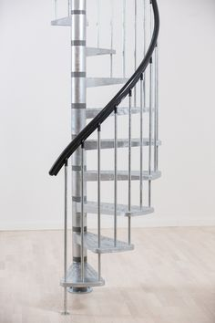 Dolle Toronto V3 Spiral Stair Kit -- Available in 2 diameters: 1250mm & 1550mm. Standard kit comes complete with 11 treads plus a landing tread to suit a floor height up to 2820mm. # From £810.00 + VAT