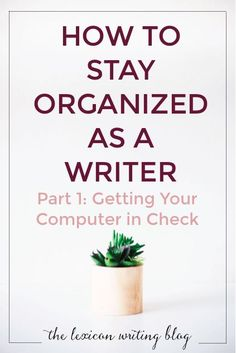 Writing produces a LOT of material! Keep it together with these tips and tricks to manage your work. Visit the site for the full list!