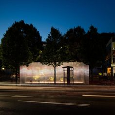 """Asif Khan creates """"space in between"""" homes and workplaces with Forests installation for MINI"""
