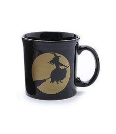 Fiesta Halloween Moonlit Witch Java Mug