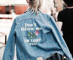 Don't follow me, I'm lost too...