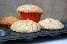 Bánánovo-kokosové muffiny