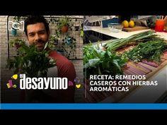 Receta: remedios caseros con hierbas aromáticas | El Desayuno - YouTube Chefs, Instagram, Youtube, Home Remedies, Breakfast, Recipes, Cook, Youtubers, Youtube Movies