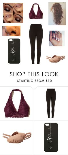 """Dance tonight :)"" by dancelover5683 ❤ liked on Polyvore featuring Hollister Co., River Island and Bloch"