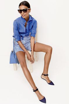 J. Crew's New Gingham Shop Is the Stuff of All Our Spring Fantasies