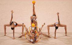 Rhythmic group pose