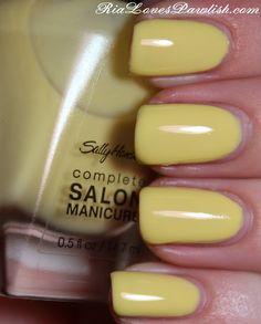 Sally Hansen complete Salon Manicure Yellow Kitty