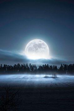 Mystical, magical moon
