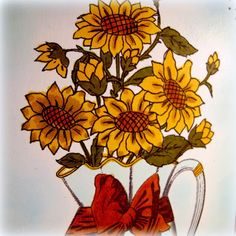 Dar's Crafty Creations: Sunflower Time of Year!