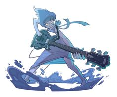 Lapis rocking out by gouviac