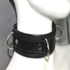 Three D-ring Collars, Belt, Rings, Accessories, Fashion, Belts, Moda, Necklaces, Fashion Styles