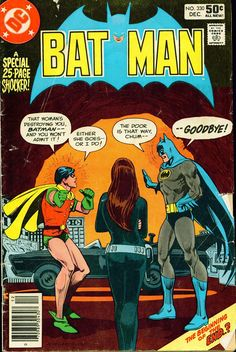 Batman #330 cover by Ross Andru, Dick Giordano and Tatjana Wood