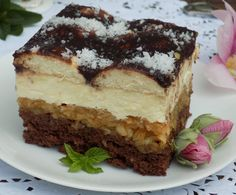 Apple Cake, Tiramisu, Cheesecake, Food And Drink, Cooking Recipes, Sweets, Baking, Ethnic Recipes, Cakes