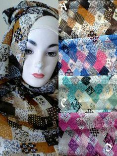 Phasmina hijab,bhan semiceruti Price @65/pcs