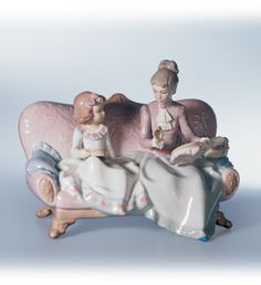 LLADRO - AN EMBROIDERY LESSON