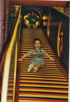 80s and 90s kids! Must see this list of stuff you will never see again but that made your childhood aaamazing. Like this slide at Discovery Zone (sure your fingers almost got cut off from it, but at least you were on the most technically advanced slide ever!). Must, must see all of these. *watch w/your hubby or siblings for a fun evening*