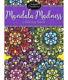 Timeless Creations, Cra-Z-Art, Adult Coloring Book - Mandala Madness