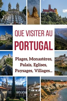 Plan your Portugal Travels ! Discover the best things to in Portugal: best of monasteries, Palaces, churches, views, villages. All with photos! --- Portugal Travel - Portugal things to do - Portuga (Top View Vacation Spots) Portugal Vacation, Portugal Travel Guide, Portugal Trip, Azores Portugal, Best Places In Portugal, Europe Travel Tips, Places To Travel, Travel Hacks, Travel Destinations