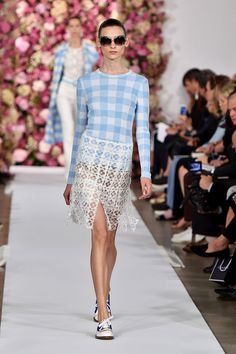 Gingham Takes the Spring 2015 Runways - Fashion Trends NYFW - Elle