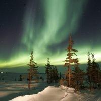 Se observarán auroras boreales en Groenlandia