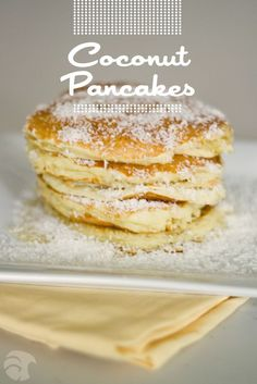Pinner said : I strongly identify myself as a pancake connoisseur, and these are the best pancakes I've EVER had.  I mean, I'll take pancakes over a steak dinner any day of the week!  The only thing I did differently was that I used 1 1/2 tsps of coconut flavoring and 3/4 c of regular milk.  I also topped it off with homemade blueberry syrup and coconut flakes.  Seriously, I almost cried!  :D