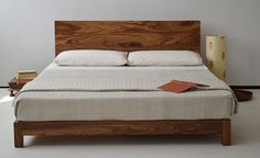 A 'one-off' king-size Sonora bed from www.naturalbedcompany.co.uk in a stunning African hardwood.