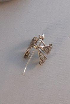 BalanceDragonflyRingSilverDragonfly by ValleyGirlDesigns on Etsy
