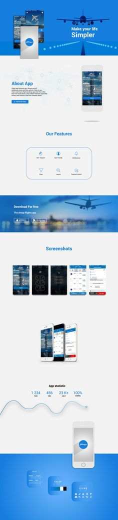 """Check out my @Behance project: """"Flight Bookings"""" https://www.behance.net/gallery/49378947/Flight-Bookings"""
