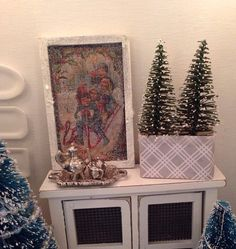 Christmas Picture-dollhouse Miniature