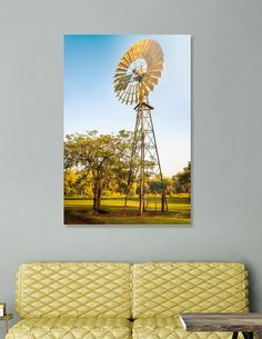 Discover «Windmill in Australian Outback at Litchfield National Park», Numbered Edition Acrylic Glass Print by Daniela Constantinescu - From $75 - Curioos