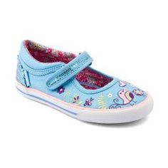 Blue Sparkle Girls Shoes