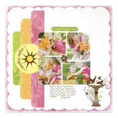Creative Memories Layout Idea #scrapbook #CM #girly http://www.creativememories.com/user/chinohills