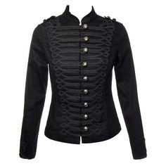 H&R MJ Military Jacket (Black)