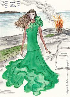 Ralph Lauren SS 2014. Illustration Flash For Zonzon.