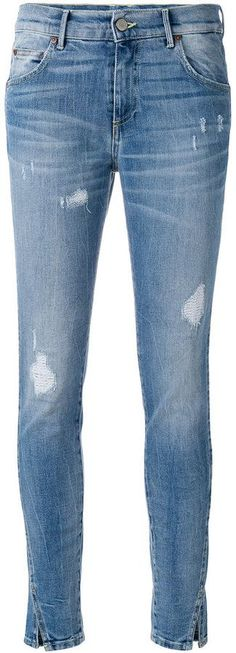 Htc Hollywood Trading Company distressed skinny jeans