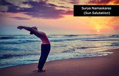 Yoga To Increase Height – Surya Namaskaras (Sun-Salutation) Source by basilevangelio Yoga Salutation Au Soleil, Increase Height Exercise, Basic Yoga Poses, Surya Namaskar, Yoga Moves, Pilates Yoga, Relaxing Yoga, Yoga Positions, How To Grow Taller
